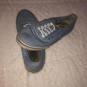 Vans canvas shoe